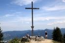 Gipfelkreuz Brauneck